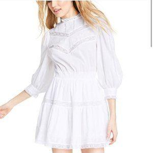LoveShackFancy Target Talulah Pintuck White Dress